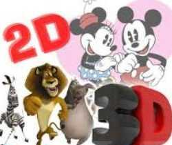 2d Animation, 3d animation