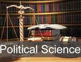 Online Course Post Graduate Diploma in Political Science