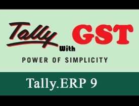 Online course diploma in Tally ERP 9 with GST